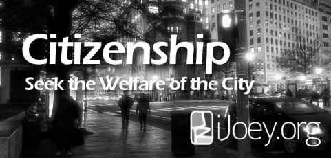 What does a United Methodist Pastor know about Citizenship?